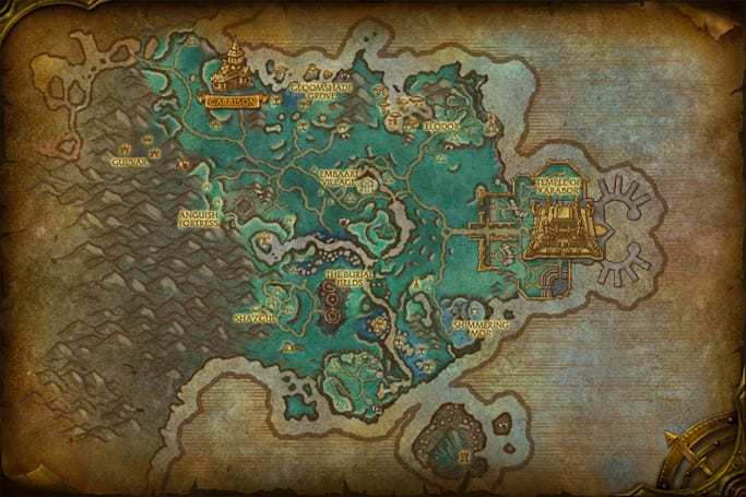 World of Warcraft previews Warlords of Draenor's Shadowmoon Valley