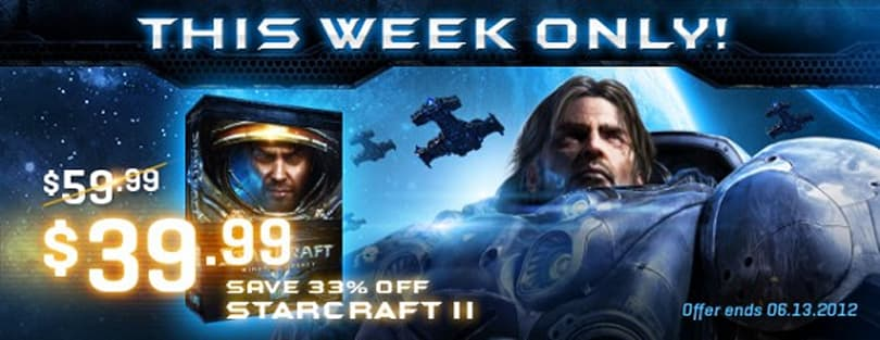 StarCraft II: Heart of the Swarm playable at MLG, Wings of Liberty on sale
