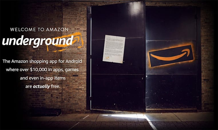 Amazon Underground has completely free apps, including in-app extras