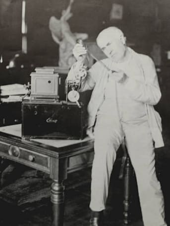 GE's early 20th century pallophotophone recorder decoded, Thomas Edison speech uncovered