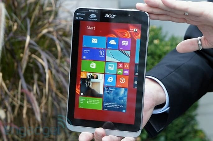 Acer intros the Iconia W4, its second 8-inch Windows 8.1 tablet: brings improved screen for $330 (hands-on)