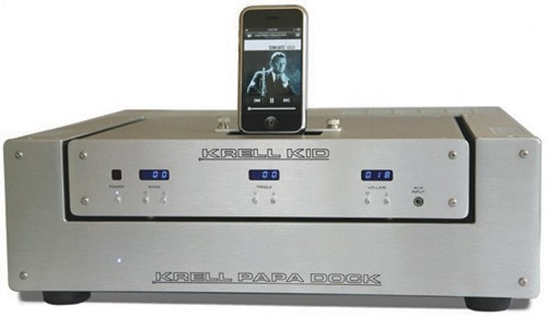 Krell intros the KID -- another expensive iPod dock you'll never buy
