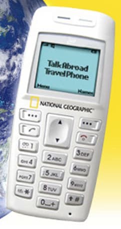National Geographic's Talk Abroad phone now on sale