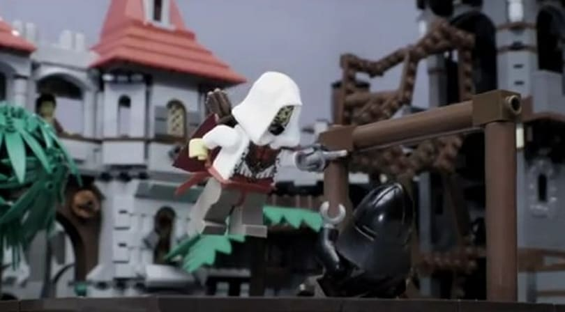 Lego-ized animation of 2011's biggest games