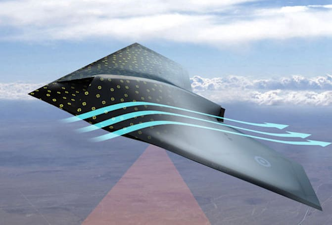 Engineers develop damage-detecting 'skin' for airplanes