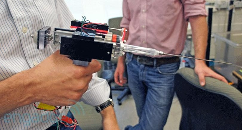 Visualized: this motion compensated tool prototype will haunt your dreams