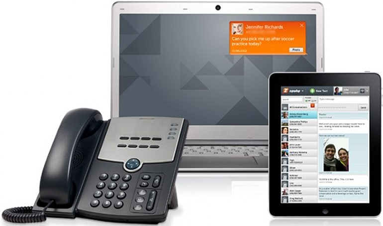 Zipwhip endows existing landlines with the ability to send and receive texts