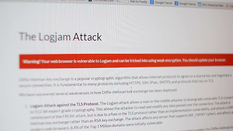 'Logjam' browser vulnerability fix will block thousands of websites