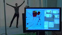 Motion capture gets slightly less embarrassing