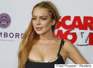 Lindsay Lohan Posts Totally Topless Photo On Instagram