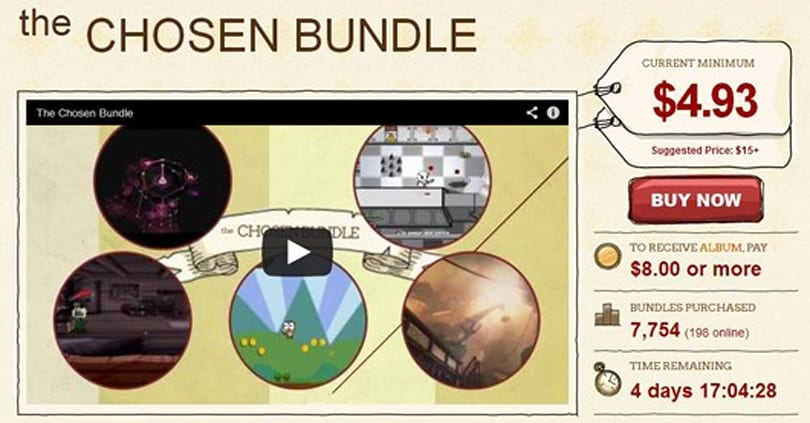 Chosen Bundle chooses Hard Reset, DLC Quest