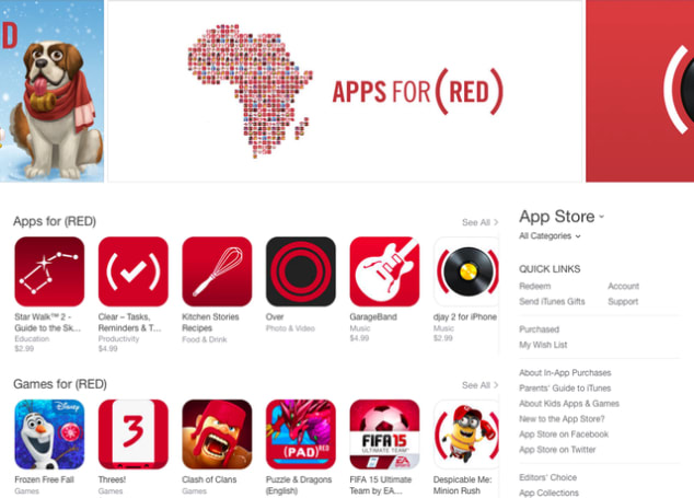 Apple raised more than $20 million in holiday Product (RED) campaign