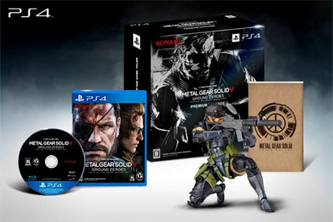 Solid Snake spotted across multiple MGS5: Ground Zeroes bundles in Japan