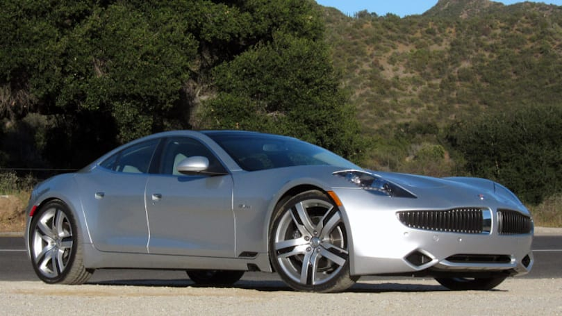 New Fisker ready to reopen in California?