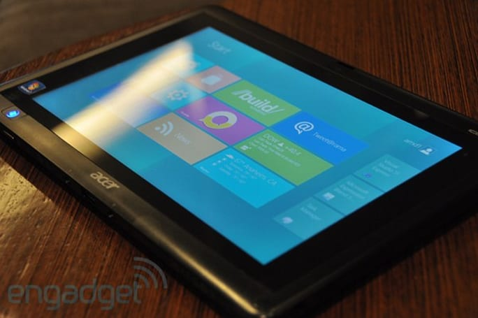 AMD Fusion tablets running Windows 8 at Build 2011: hands-on with video