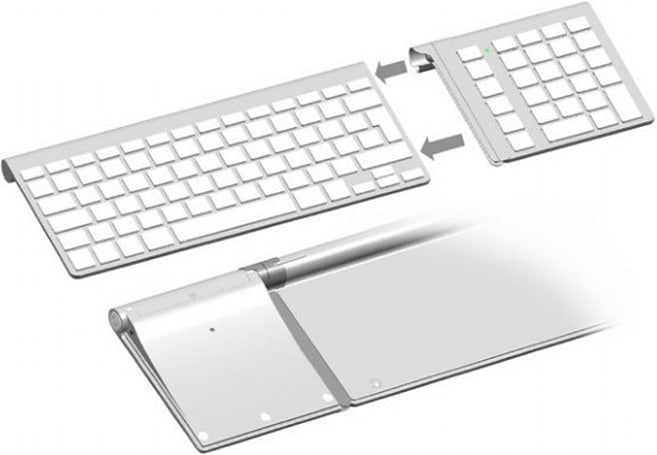 Add a number keypad to your Apple Wireless Keyboard
