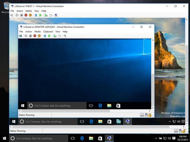 Windows 10 now does Windows within Windows within Windows