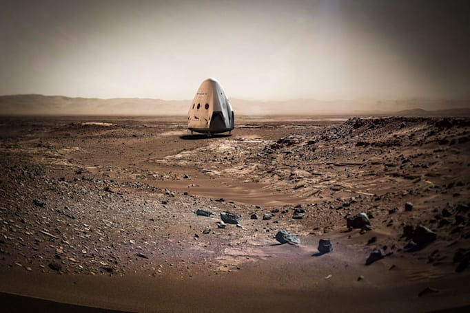 SpaceX wants to land on Mars as early as 2018