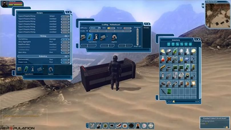 PAX East 2013: Repopulation's crafting detailed in 21-minute video