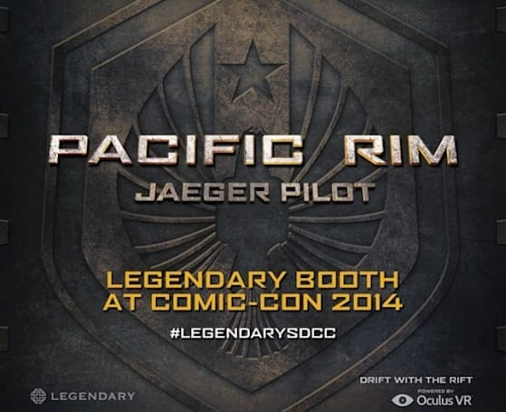 Pilot one of the robots from 'Pacific Rim' with Oculus Rift at Comic-Con