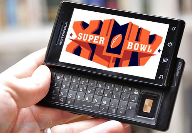 Motorola buys Super Bowl ad spot