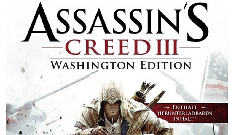 Assassin's Creed 3 Washington Edition pops up on German sites