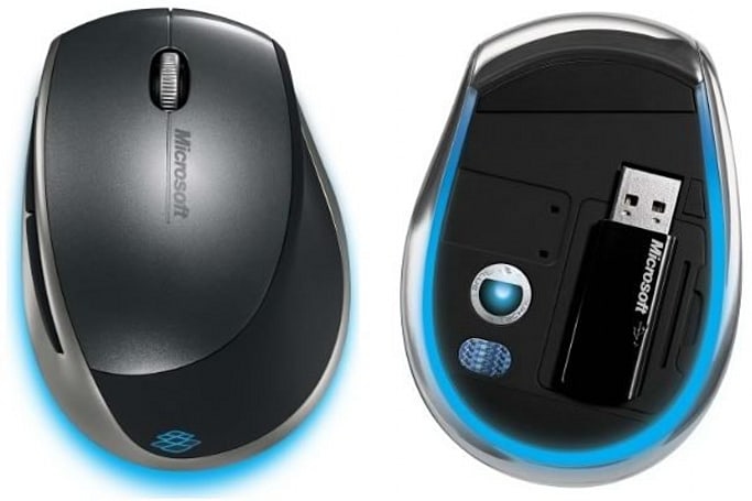 "Microsoft's new ""Blue Track"" mouse spotted?"