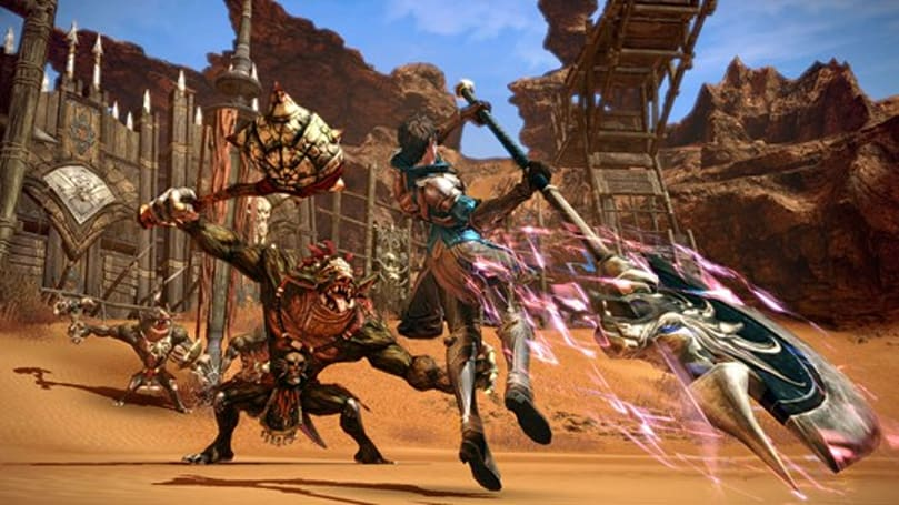 TERA free-to-play launches today