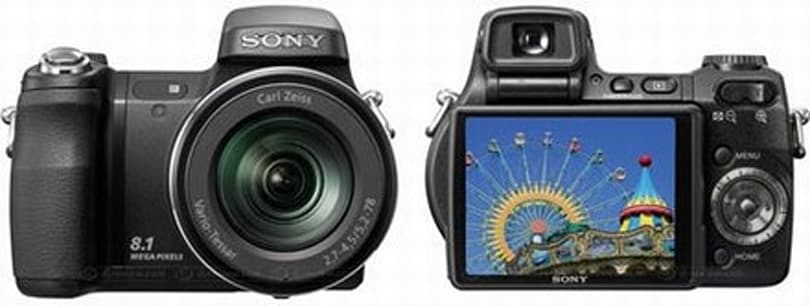 Sony's DSC-H7 / DSC-H9 CyberShots get official, pack 15x optical zoom