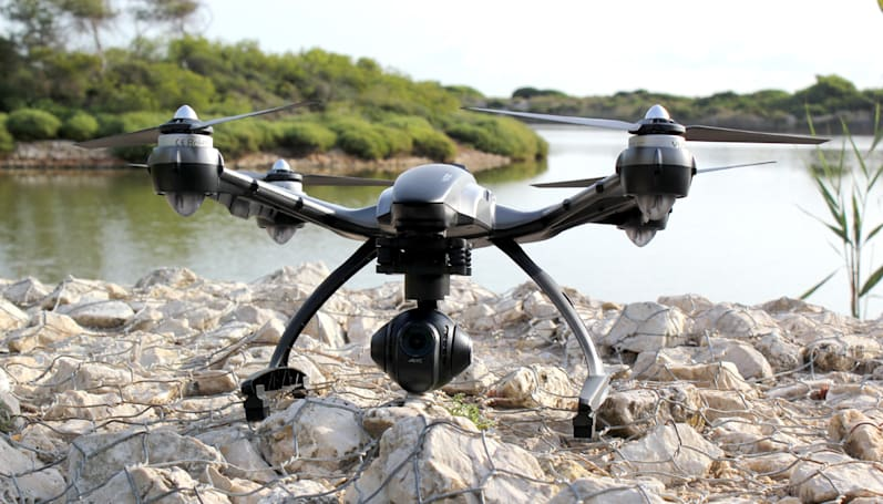 DJI's Phantom 3 has its biggest rival in Yuneec's 4K Typhoon drone