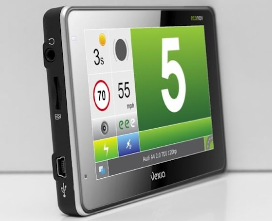 Vexia Econav GPS nags you about your driving