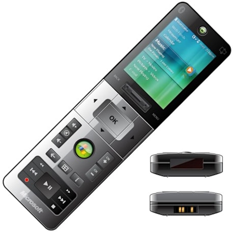 Ricavision's Vista MCE SideShow remote does Bluetooth at 100-meters