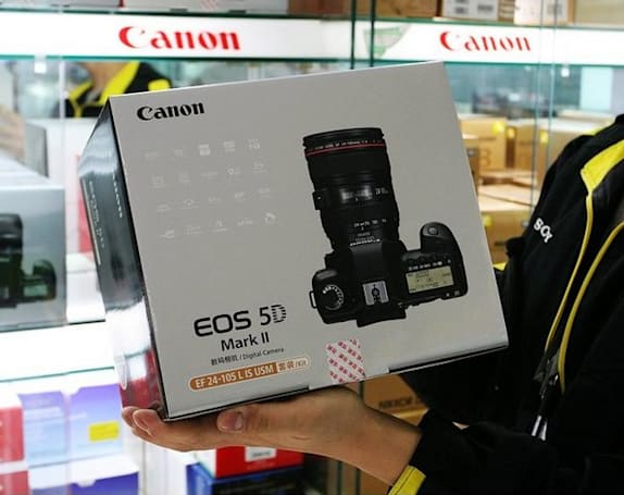 Canon EOS 5D Mark II spotted for sale in the wilds of Shanghai