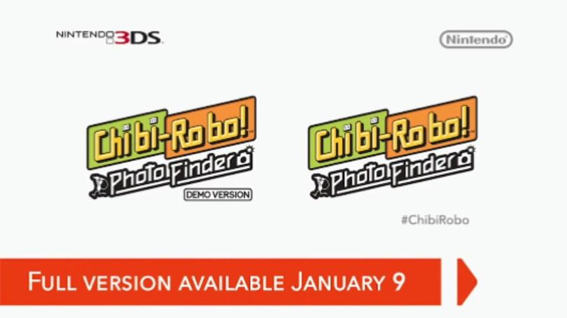 Chibi-Robo returns January 9