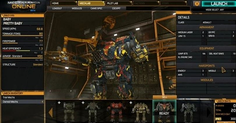Mechwarrior Online has big plans for March