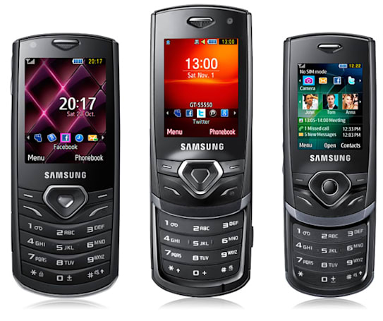 Samsung Shark series puts weight on social networks, reasonable price