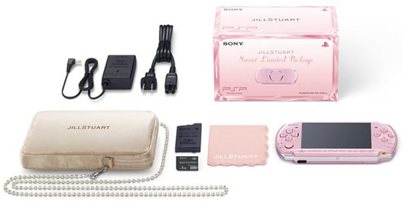 Limited Edition Jill Stuart PSP is sweet