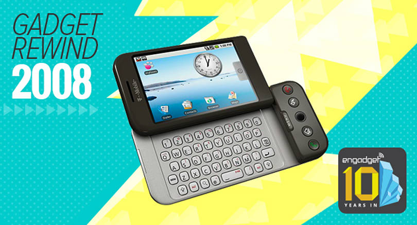 Gadget Rewind 2008: T-Mobile G1 (HTC Dream)