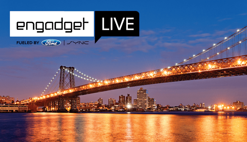 Engadget Live's final stop this year is in New York City tonight!
