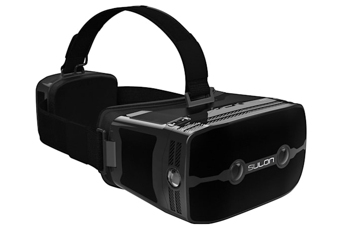 Sulon offers a peek at a true all-in-one VR headset