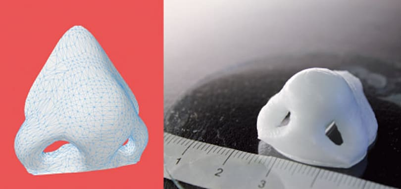 Researchers can now 3D-print nose cartilage in 16 minutes