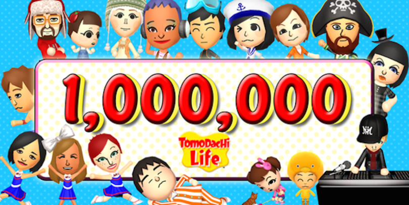 Tomodachi Life welcomes 1 million Miis in Europe