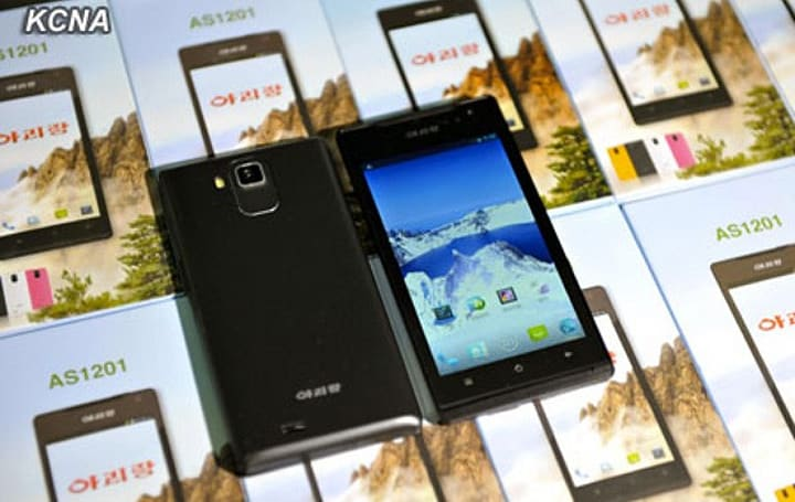 North Korea unveils 'native' Android smartphone
