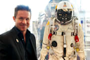 Felix Baumgartner is the man who fell to Earth and lived to tell the tale