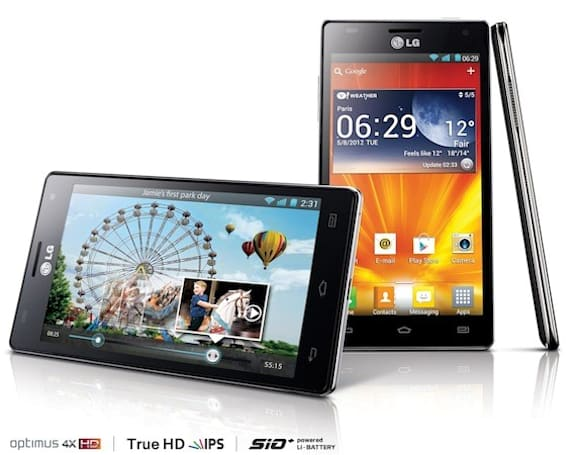 LG lines up Optimus 4X HD for launch in Germany, Sweden, Great Britain, Italy and Poland