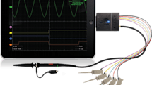 Oscium's iMSO-104 turns iPad, iPhone into mixed signal oscilloscopes