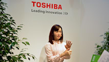 Toshiba's new android 'employee' uses sign language, speaks Japanese