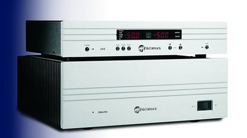McCormack Audio debuts new amplifier, preamplifier for two-channel holdouts