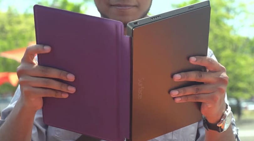 Surface 2 Touch Cover supports gesture control, comes in more colors