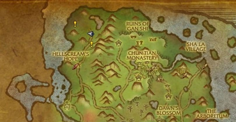 World map quest markers are good news for Loremasters in Mists of Pandaria